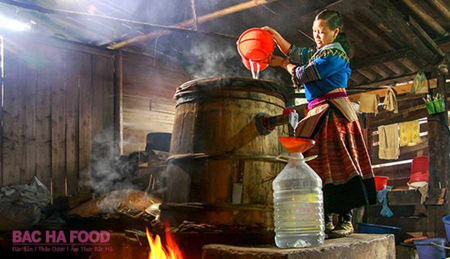 nấu rượu san lùng