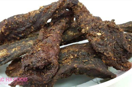 Thịt trâu gác bếp sự thật về món ăn đậm chất Tây Bắc!